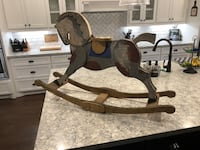 Antique decorative rocking horse Spring, 77386