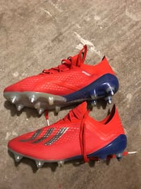 X 18.1 soccer cleats with detachable studs size 9 Houston, 77064