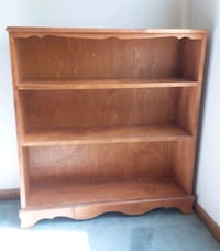 Solid wood bookshelf  Virginia Beach, 23456