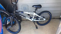 white and blue BMX bike Mc Lean, 22102