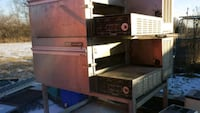 2 comercial pizza ovens w dough maker and conveyer Topeka, 66616