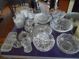 Cut Glass Dishes