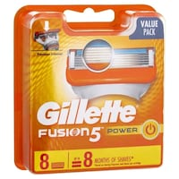Gillette Fusion Power Cartridges 8 Count   Abbotsford, V2T 2N5