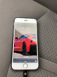 silver iPhone 5s with black case Hicksville, 11801