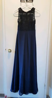 EUC Navy bridesmaid, evening or formal dress Whitchurch-Stouffville, L4A 4H4