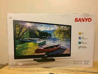 Sanyo 32 in. Flat screen tv. Brand new
