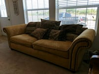 Gold and brown couch Mesa, 85212