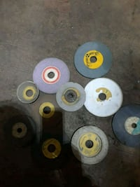 Grinding wheels and what looks to be a 5/8 adapter Lake Villa, 60046