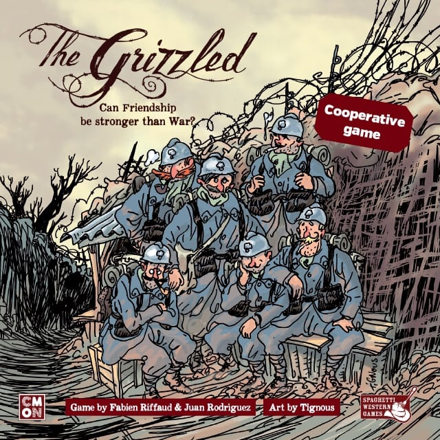 The Grizzled Cooperative Card Game (unopened)