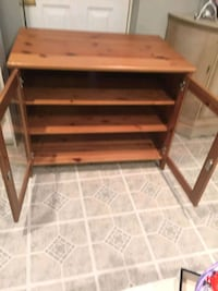 brown wooden TV entertainment center  Gaithersburg, 20878
