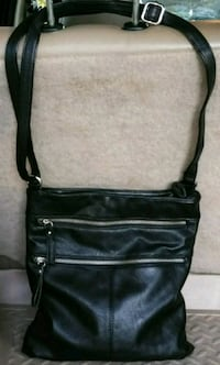 Black satchel shoulder bag with zipper accessories San Jose, 95132
