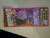 Circus tickets  New Orleans, 70114