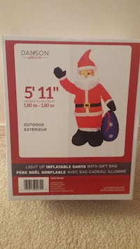 Christmas outside decoration inflatable Led  Vancouver, V5W 4B6