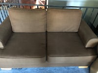 two gray fabric sofa chairs Rockville, 20853