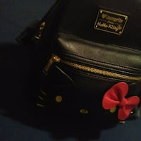 black and red leather handbag 539 km