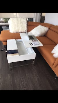 Adjustable top White Coffee Table  New Westminster