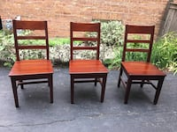 6 Crate & Barrel dinning chairs