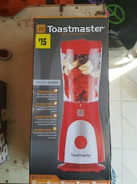 toastmaster personal blender box