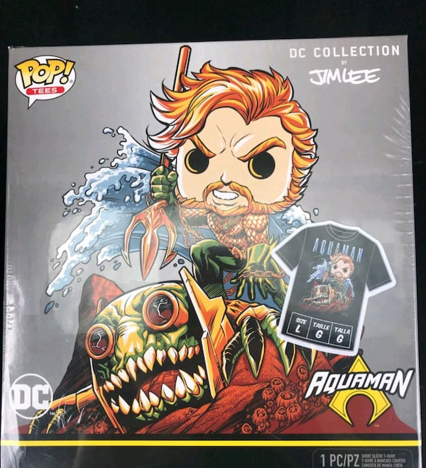 Aquaman Jim Lee Exclusive Funko Pop 0