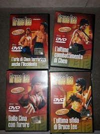 4 dvd Bruce lee.  Vaiano, 59021
