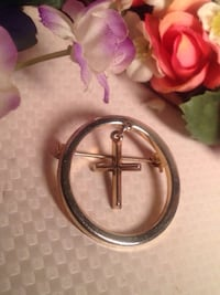 Cross Brooch Edmonton, T5W 2L5