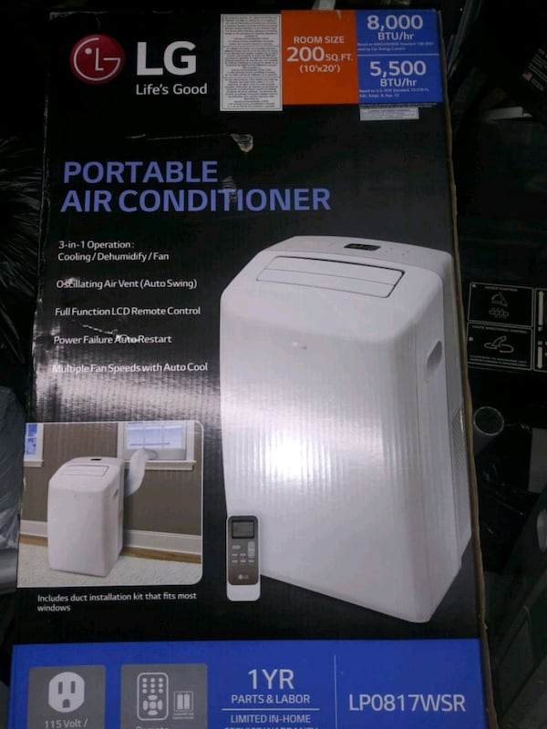 Air conditioning for the inside of a home excellent condition d03e3d35-2366-441c-baee-3b374e1b2b7c