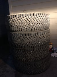 Studded winter tires - 215/70R16 Spruce Grove, T7X 0V3