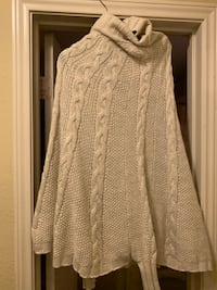 White Cape with Sleeves  Dallas, 75218