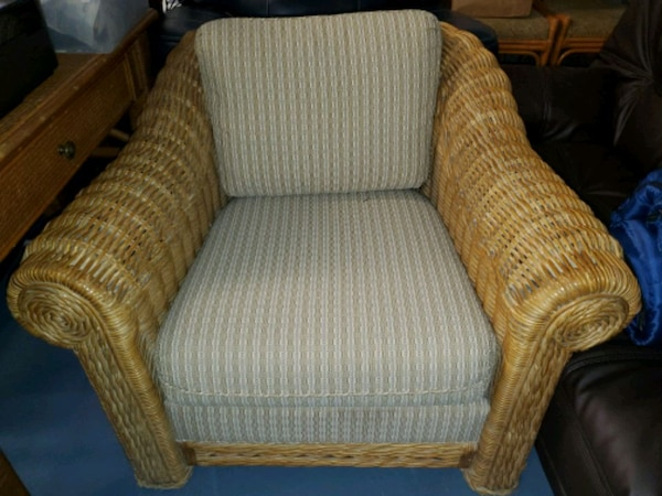 Wicker Accent Chairs.Beautiful Rattan Wicker Accent Chair Sisal Look