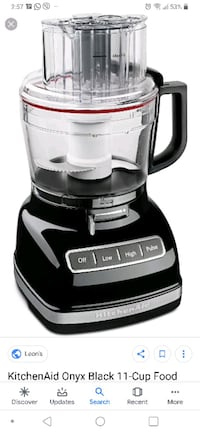 Food Processor Kitchen Aid 11-cup used once Toronto, M8X 1A3
