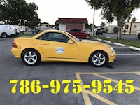 yellow 5-door hatchback Miami Gardens, 33055