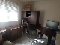 2Wooden office desks (comp.&chair not included) Toronto, M9C 5H5