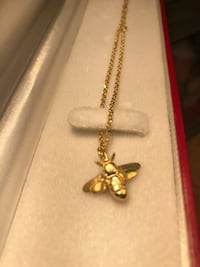 """Womens 18"""" Gold Plated Necklace Waxhaw"""