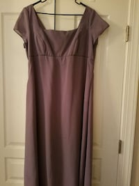 Lavender Gown worn one time. Great for weddings etc.