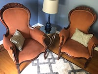 Estate antique Queen Anne Style chairs Windsor Heights, 50324