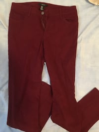 Forever 21 size 27 maroon jeans! 3012 km