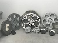 Lot of Antique Movie reels & cases Las Vegas, 89148