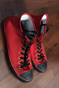 Red Converse Shoes Vancouver, V5L 1J7