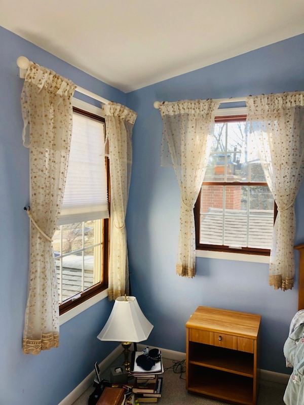 Curtains / window treatments including hardware