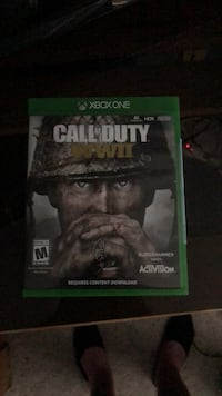 Xbox One Call of Duty WWII case Pembroke Pines, 33029