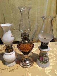 All oil lamps for 28.00! 155 mi