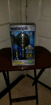 Waterpik dual power pulse shower system