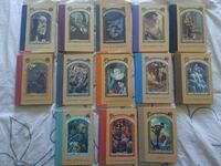New/Euc The complete series of Unfortunate events Vancouver, V5M 3J5
