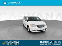 2015 Chrysler Town and Country mini-van Touring-L Minivan 4D White Brentwood
