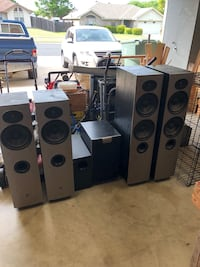 Athena audition series speakers and Bose sub Killeen, 76542