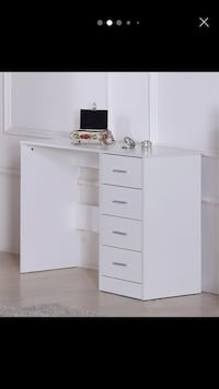 High gloss fronts study desk/ dressing table Rochdale, OL16 2QL