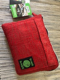 """Red Dime Bags 10"""" storage pouch  Long Beach, 90804"""