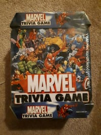 Marvel comics trivia game new still in original box