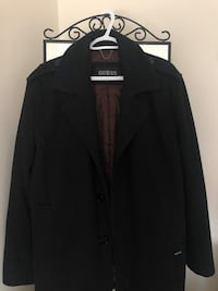Men's GUESS Black Coat Markham, L6B 1N4
