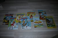 8 Donald Duck blader. 1 Koster 10,-. Alle for 50,-. Kopervik, 4250